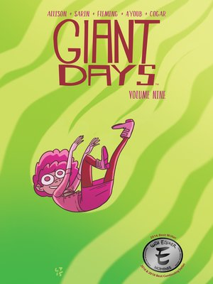 cover image of Giant Days (2015), Volume 9