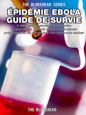 cover image of Épidémie Ebola   Guide de survie