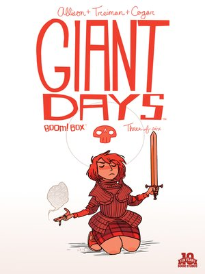 cover image of Giant Days (2015), Issue 3