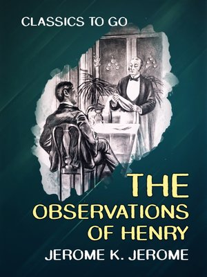 cover image of The Observations of Henry