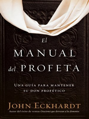 cover image of El manual del profeta / the Prophet's Manual