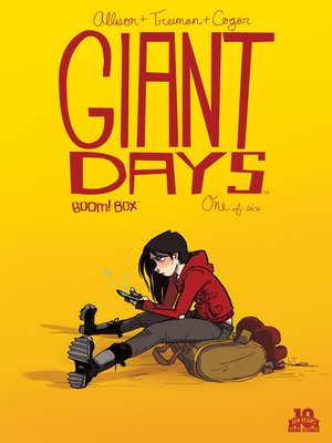 cover image of Giant Days (2015), Issue 1