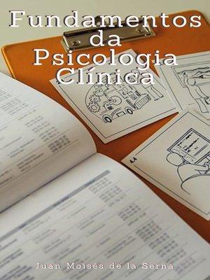 cover image of Fundamentos da Psicologia Clínica