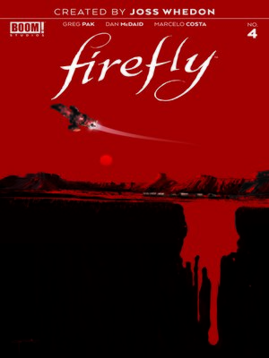 cover image of Firefly, Issue 4