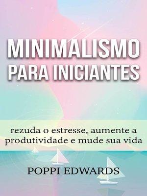 cover image of Minimalismo para Iniciantes