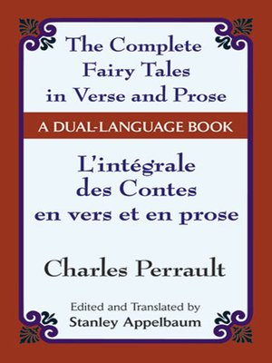 cover image of The Fairy Tales in Verse and Prose/Les contes en vers et en prose