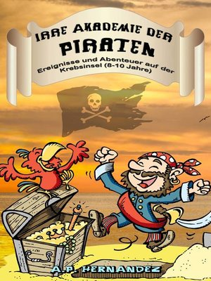 cover image of Irre Akademie der Piraten