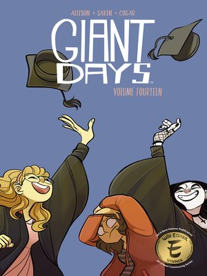 cover image of Giant Days Volume 14
