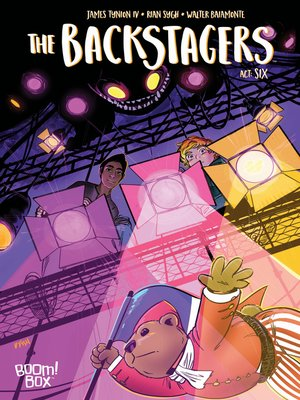 cover image of The Backstagers (2016), Issue 6