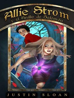 cover image of Allie Strom y el Anillo de Salomón