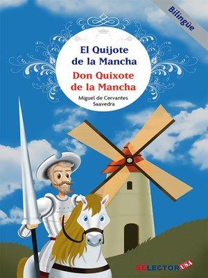 cover image of Quijote de la mancha (bilingüe)