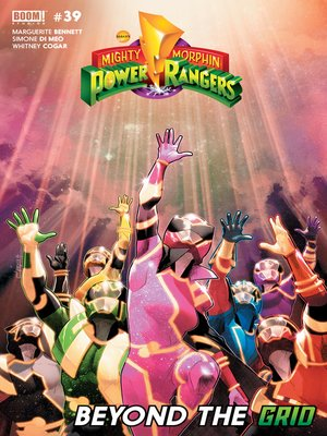 cover image of Mighty Morphin Power Rangers (2016), Issue 39