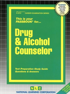 cover image of Drug & Alcohol Counselor