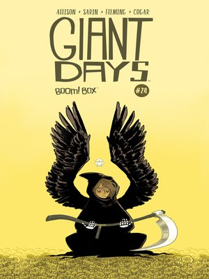 cover image of Giant Days (2015), Issue 24