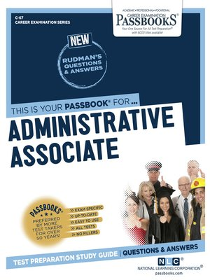 cover image of Administrative Associate