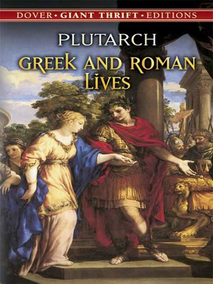 cover image of Greek and Roman Lives