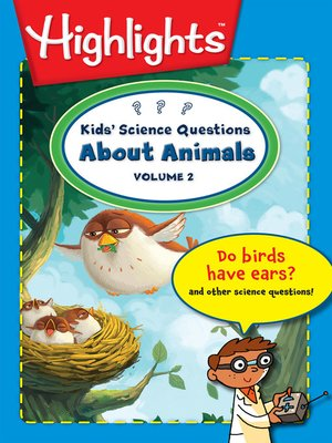cover image of Kids' Science Questions About Animals, Volume 2