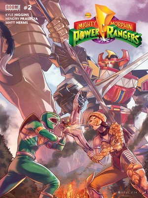 cover image of Mighty Morphin Power Rangers #2