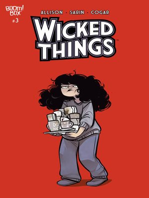 cover image of Wicked Things, Issue 3