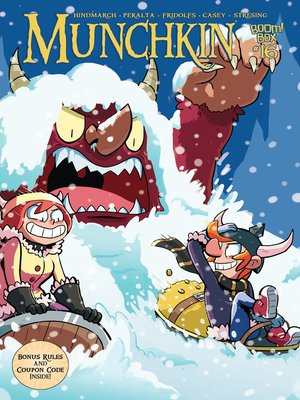 cover image of Munchkin (2015), Issue 16