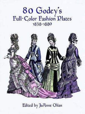 cover image of 80 Godey's Full-Color Fashion Plates