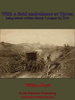 cover image of With a Field Ambulance at Ypres