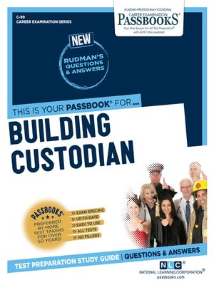 cover image of Building Custodian