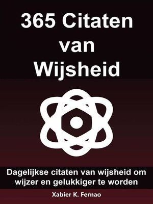 cover image of 365 Citaten van Wijsheid