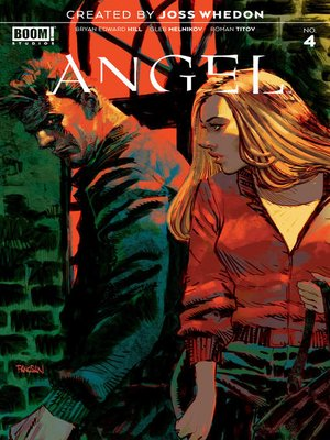 cover image of Angel, Issue 4
