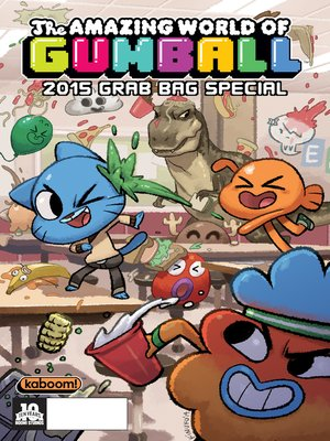cover image of The Amazing World of Gumball: 2015 Grab Bag