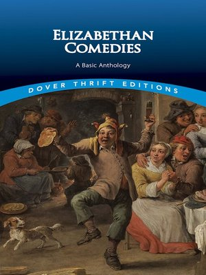cover image of Elizabethan Comedies