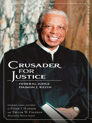 cover image of Crusader for Justice