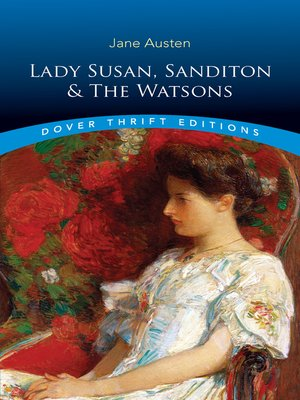cover image of Lady Susan, Sanditon and the Watsons
