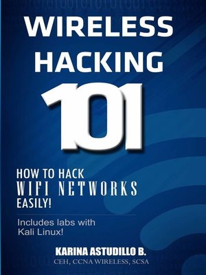 cover image of Wireless Hacking 101
