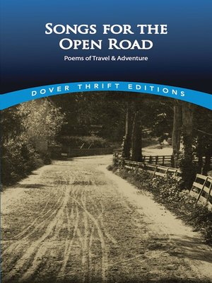 cover image of Songs for the Open Road