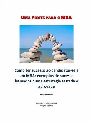 cover image of Uma Ponte Para O Mba