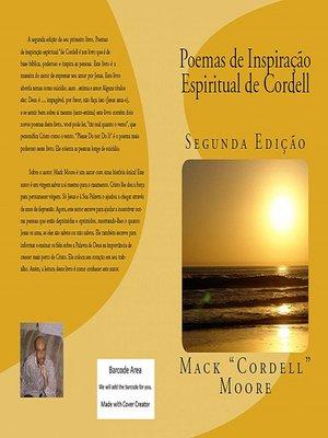 cover image of Poemas De Inspiração Espiritual