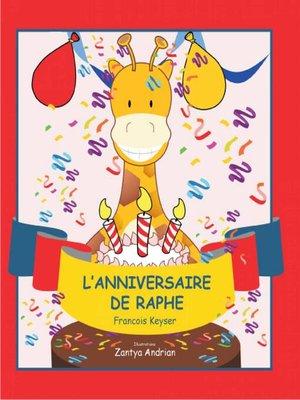 cover image of L'anniversaire de Raphe