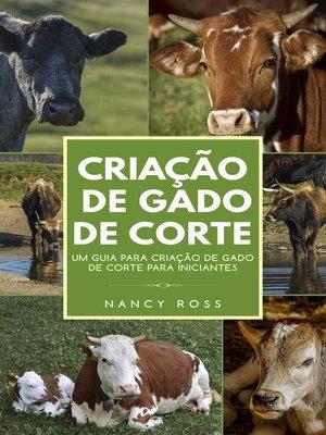 cover image of Criação de Gado de Corte