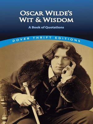 cover image of Oscar Wilde's Wit and Wisdom