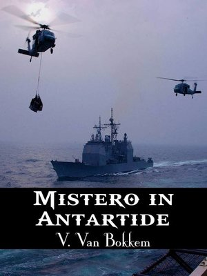 cover image of Mistero in Antartide