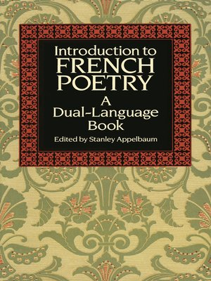 cover image of Introduction to French Poetry
