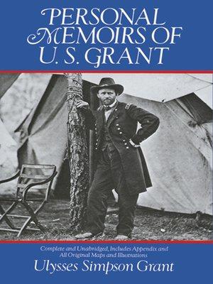 cover image of Personal Memoirs of U. S. Grant