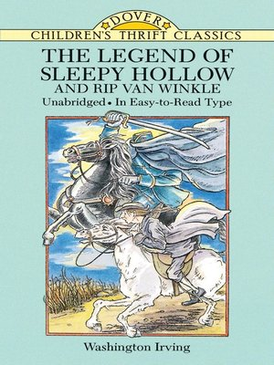 cover image of The Legend of Sleepy Hollow and Rip Van Winkle