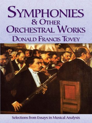 cover image of Symphonies and Other Orchestral Works