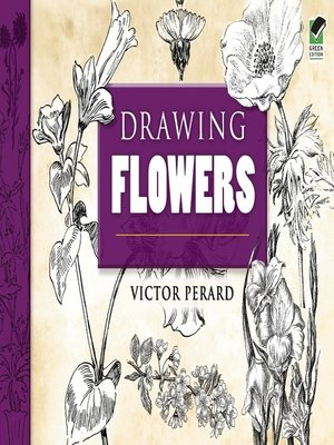 cover image of Drawing Flowers