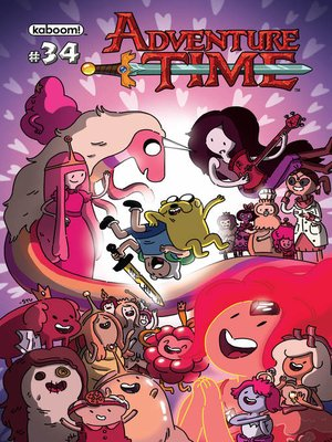 cover image of Adventure Time #34