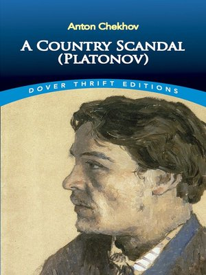 cover image of A Country Scandal (Platonov)