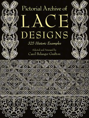 cover image of Pictorial Archive of Lace Designs