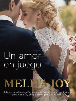 cover image of Un amor en juego